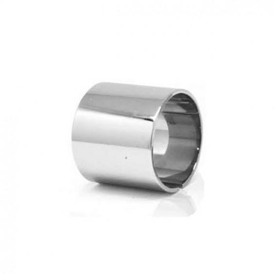 Кольцо из стали кафф с глянцевой поверхностью