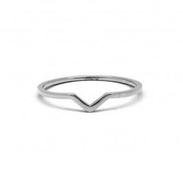 Кольцо стальное на фалангу