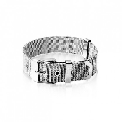Браслет-ремень из стали, коллекция Belt