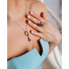 Коллекция Vineyard - Виноград.   🟪〰️Это качественная медицинская сталь 🟣〰️Женственный японский дизайн 🟪〰️Оригинальные кристаллы от  Swarovski в сиреневой цветовой палитре 🟣〰️Яркий и индивидуальный стиль  Такие украшения смотрятся элегантно и очень эффектно.   💜Ещё мы дарим подарки!   Кольцо из этой коллекции Вы получите бесплатно при покупке набора: сережек и кулона.  Пишите в Директ, заказывайте стильные и красивые украшения❤  #кристаллысваровски #кольцовподарок #даримукрашения #украшениянавыход #украшениянавечеринку #украшениядлявыпускного #украшениядлядевушек