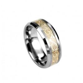 Кольцо стальное с вол...