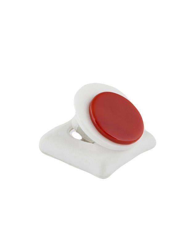 Кольцо женское бело-к...