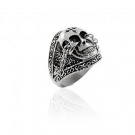 Перстень стальной со ...