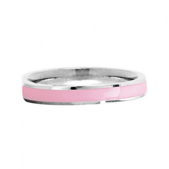 Кольцо стальное с цветным эпоксидом и гравировкой Be Strong в ассортименте