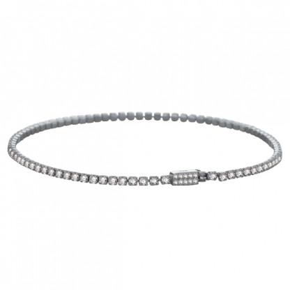 Браслет-цепочка, серебро 925 пробы