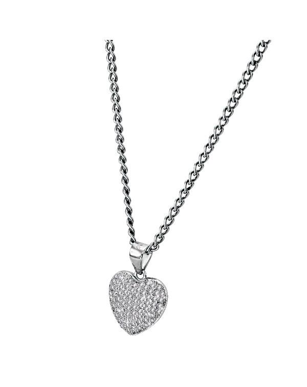 Кулон сердце, серебро ...