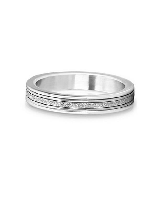 Кольцо стальное с алм...