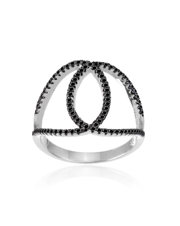 Кольцо  с петельками и...
