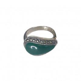 Кольцо из серебра 925 с ...