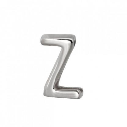 """Шарм """"Z"""" из стали для браслета PBR349"""