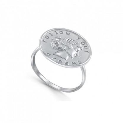 "Кольцо из серебра 925 ""Следуй своим мечтам"""
