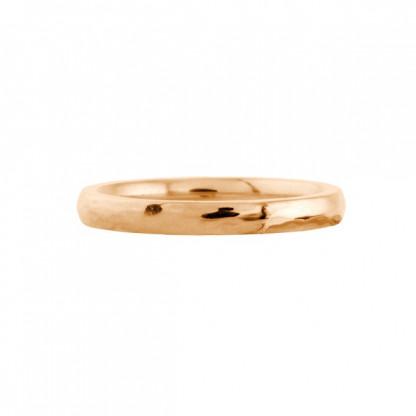 """Кольцо стальное с PVD-покрытием цвета """"розовое золото"""", с многогранной поверхностью в ассортименте"""