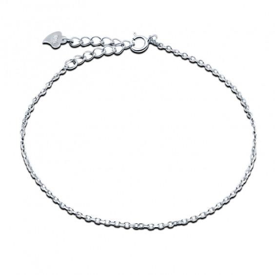 Браслет-цепочка из серебра 925 пробы, 0.93гр.