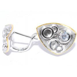 Серьги из серебра 925 п...