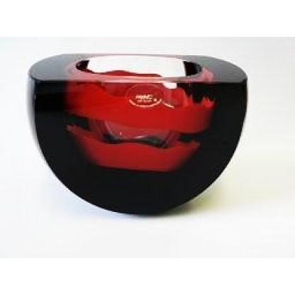 26551/14 Чаша с вырезом черная+красная деталь